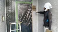 那珂市 K様邸 外壁塗装(中塗り・上塗り)