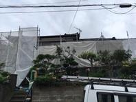 日立市 K様邸 外壁塗装(架設足場組立)