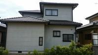 水戸市 T様邸 外壁塗装(着工前)