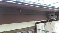 那珂市 K様邸 破風塗装(ケレン・下塗り・中塗り・上塗り)