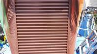 日立市 K様邸 雨戸塗装(ケレン・下塗り・中塗り・上塗り)