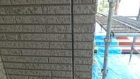 益子氏 K様邸 外壁目地補修(撤去・打設・均し)