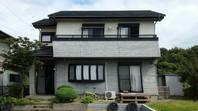 東海村 Y様邸 外壁塗装(着工前)