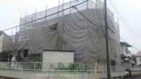 宇都宮市 O様邸 外壁塗装(架設足場組立)