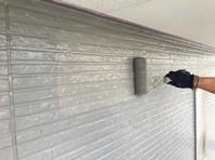 ひたちなか市 S様邸 外壁塗装(中塗り・上塗り)