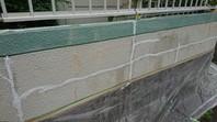 宇都宮市 O様邸 塀塗装(補修・下塗り)
