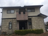 東海村 I様邸 屋根・外壁塗装(着工前)