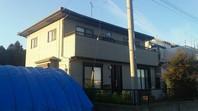 東海村 M様邸 外壁塗装(着工前)