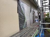ひたちなか市 S様邸 外壁塗装(上塗り)