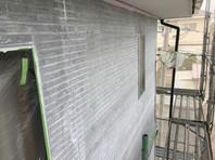 ひたちなか市 S様邸 外壁塗装(下塗り)