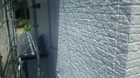 東海村 M様邸 外壁塗装(中塗り・上塗り)