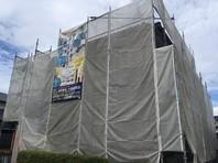 東海村 I様邸 屋根・外壁塗装(架設足場組立)