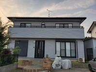 東海村 M様邸 外壁塗装(完成)