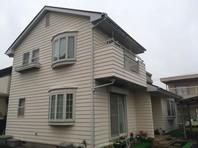 ひたちなか市      S様邸    屋根・外壁塗装(着工前)