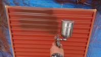 筑西市 Ⅰ様邸 雨戸塗装(ケレン・下塗り・中塗り・上塗り)