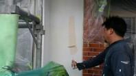 筑西市 Ⅰ様邸 外壁塗装(下塗り・中塗り・上塗り)