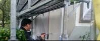 筑西市     I様邸      外壁塗装(高圧洗浄)