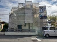 宇都宮市 I様邸 屋根・外壁塗装(架設足場組立)