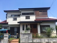 東海村 R様邸 屋根・外壁塗装(着工前)
