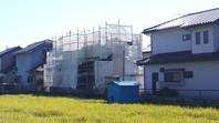 東海村 R様邸 屋根・外壁塗装(架設足場組立)