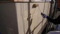 益子町 M様邸 外壁塗装(中塗り・上塗り)