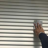 常陸太田市 U様邸 雨戸塗装(ケレン・下塗り・中塗り・上塗り)