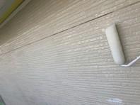上三川町 A様邸 外壁塗装(下塗り・中塗り)