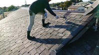 益子町 M様邸 屋根塗装(中塗り・上塗り)