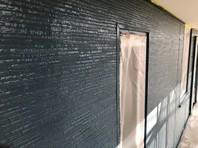 上三川町 A様邸 外壁塗装(上塗り)