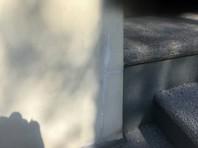 宇都宮市 I様邸 塀塗装(クラック補修・下塗り)