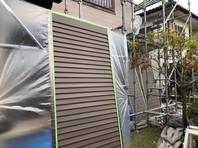 笠間市 Y様邸 雨戸塗装(ケレン・下塗り・中塗り・上塗り)