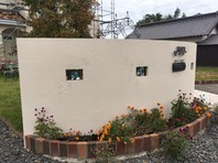 那珂市 S様邸 塀塗装(下塗り・中塗り・上塗り)