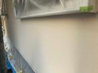 那珂市 S様邸 外壁塗装(中塗り)