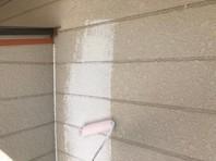 笠間市 Y様邸 外壁塗装(下塗り)
