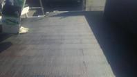 笠間市 S様邸 屋根塗装(中塗り・上塗り)