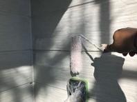 ひたちなか市 H様邸 外壁塗装(下塗り・中塗り)
