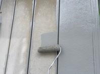 城里町 A様邸 外壁塗装(下塗り)