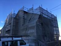 日立市 S様邸 屋根・外壁塗装(架設足場組立)