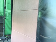 日立市 H様邸 外壁塗装(中塗り・上塗り)