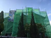 日立市 H様邸 外壁塗装(架設足場組立)