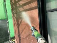 日立市 H様邸 外壁塗装(高圧洗浄)