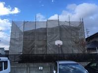 つくば市 T様邸 外壁塗装(架設足場組立)