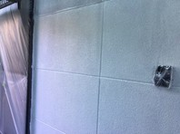 日立市 H様邸 外壁塗装(下塗り)