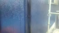 石岡市 I様邸 雨樋塗装(ケレン・下塗り・中塗り・上塗り)
