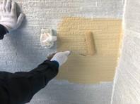水戸市 A様邸 外壁塗装(中塗り・上塗り)