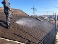 水戸市 A様邸 屋根・外壁塗装(高圧洗浄)