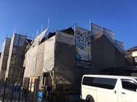 水戸市 A様邸 屋根・外壁塗装(架設足場組立)