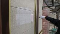 城里町 S様邸 外壁塗装(下塗り)