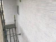 鉾田市 K様邸 外壁塗装(下塗り)