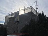 ひたちなか市 K様邸 屋根・外壁塗装(架設足場組立)